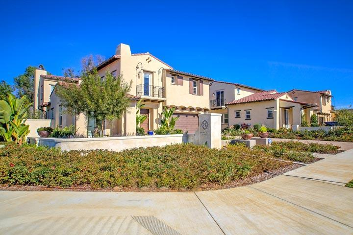 Carlsbad New Crest Court Homes