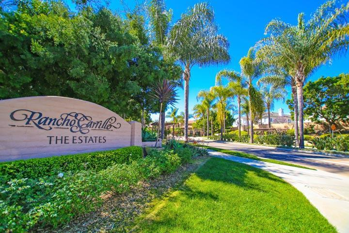 The Estates Rancho Carillo Carlsbad Neighborhood